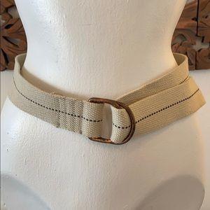 Other - Rustic beige belt
